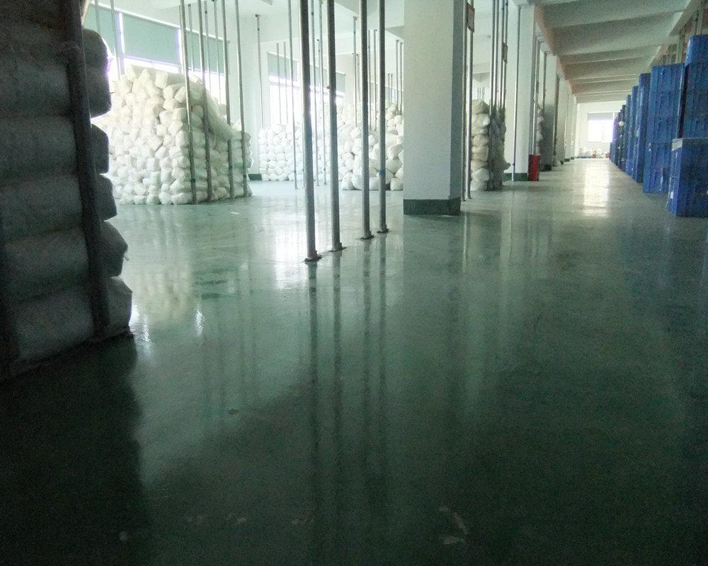 金刚砂硬化耐磨地坪
