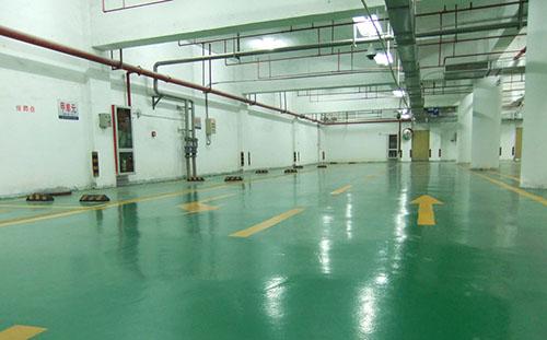 地下车库环氧树脂纹理地坪:厦门世茂湖滨首府