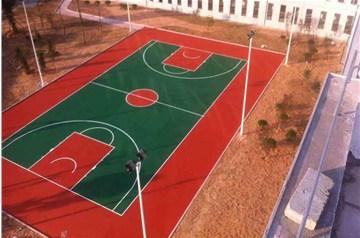 沧晟硅PU篮球场施工方案