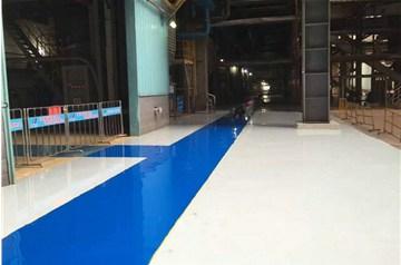 地坪漆厂家做环氧地坪施工是这样保证安全的