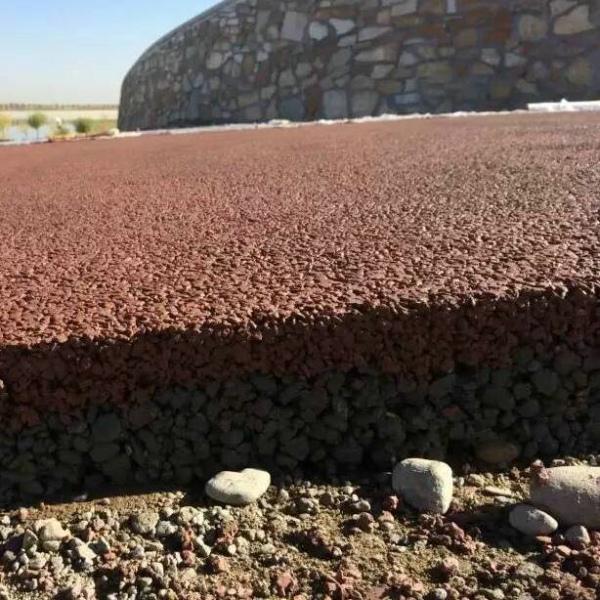 景区施工彩色透水地坪材料功能有何要求