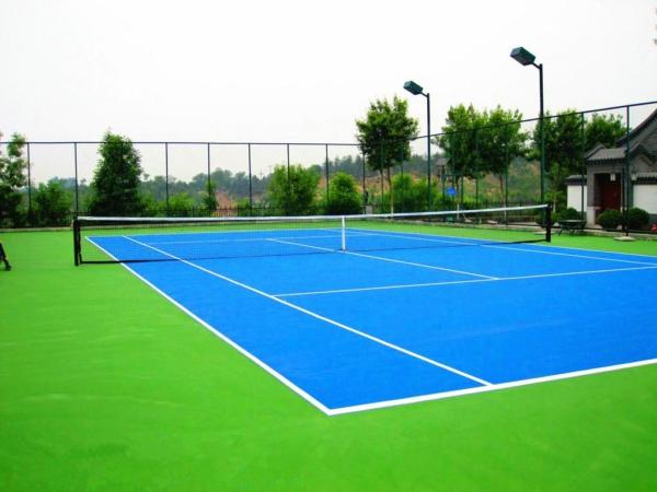 球场制作之丙烯酸地坪和硅PU地坪的制作