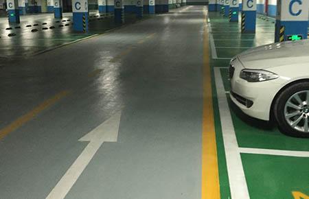 停车库环氧地坪树脂地坪漆使用中要注意什么?
