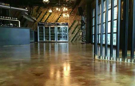 复古环氧地坪厂家讲下施工方法与复古地坪工艺流程
