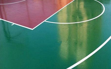 球场环氧地坪在篮球训练中起到哪些保护作用?