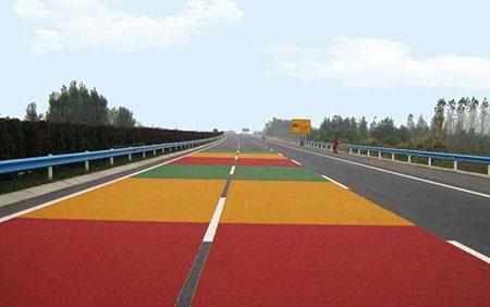 环氧彩色地坪是怎样让路面有颜色的?