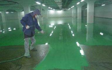 环氧地坪施工企业讲下环氧地坪的施工方法和流程