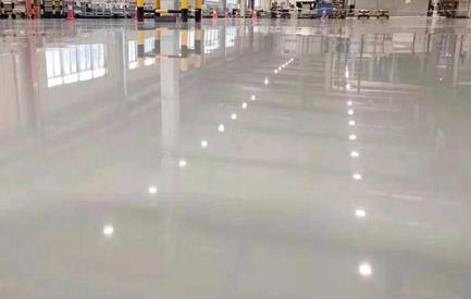 环氧树脂自流平型防静电地坪漆的适用范围与特点