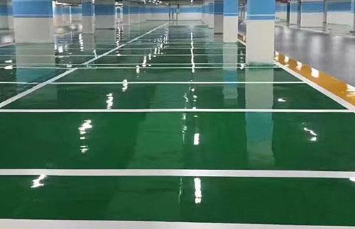 环氧地坪漆出现渗色的原因及预防措施