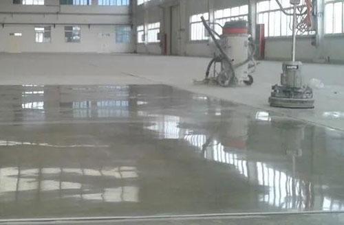 固化地坪光泽度不足有什么好的解决办法?