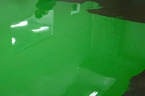 地坪漆施工中辊涂、刷涂、喷涂的区别与优缺点