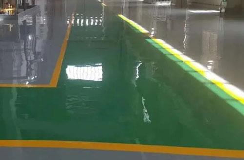 环氧地坪漆涂膜产生脱落的原因与防范措施
